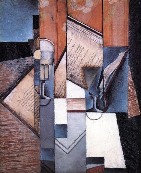 Juan Gris, The Book on ArtStack #juan-gris #art