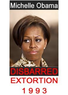 WHY weren't we told that both Barack and Michelle had LOST their Law Licenses.......seems like important information to ME!!!!