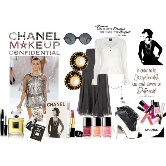 Everythings about Chanel, created by kitty1255.polyvore.com