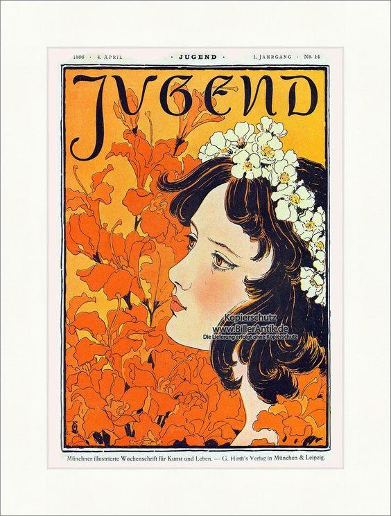 Art nouveau graphic posters - Fast Images
