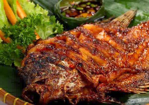 Cara Membuat Gurame Bakar Bumbu Kecap Resep Ikan Bakar Resep Ikan Resep Masakan