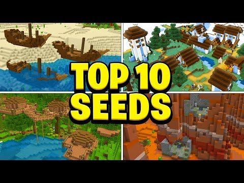 Top 10 Best New Seeds For Minecraft Pocket Edition Ps4 Xbox