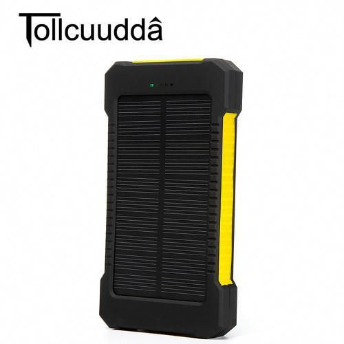 Type Emergency Portable Quality Certification Fcc Ce Rohs Battery Type Li Polymer Battery Is Led Lam Solar Phone Chargers Phone Solar Power Bank