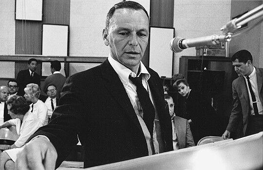 Frank Sinatra Recording September Of My Years 1965 Love Frank Sinatra Frank Sinatra Sinatra
