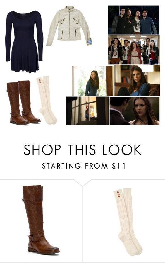"""""""Chapter 19- Hayley McCall"""" by elenaxoxosilber ❤ liked on Polyvore featuring Frye, Steve Madden, Episode, women's clothing, women, female, woman, misses and juniors"""