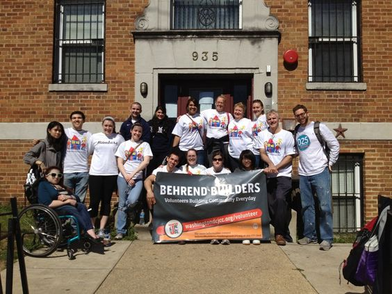 03/11/2012 - DC's JCC, Behrend Builders, and Ithica College teamed up to paint THC's Partner Arms 1 building.  They painted 3 hallway walls and weeded the garden.  Thank you all for your support of THC-Housing Families, Transforming Lives!