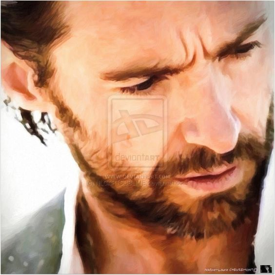 2 Portrait De Hugh Jackman Element OR by NLCARTSUBLIME.deviantart.com on @deviantART