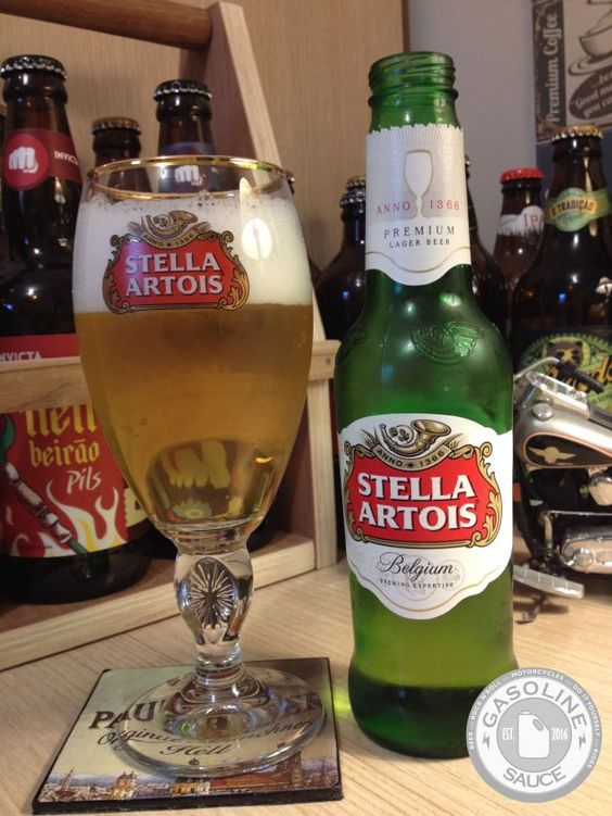 Geladas - Stella Artois - GASOLINE SAUCE