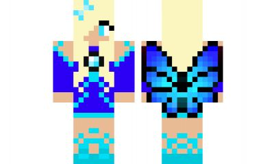 minecraft skin water-fairy Find it with our new Android Minecraft Skins App: https://play.google.com/store/apps/details?id=the.gecko.girlskins