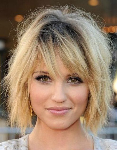 37 Short Choppy Layered Haircuts Messy Bob Hairstyles Trends For Autumn Winter 2019 2020 Messy Bob Thick Hair Styles Long Face Hairstyles Medium Hair Styles