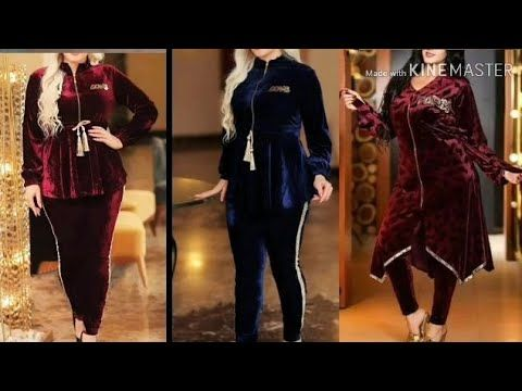 اروع و اجمل موديلات بيجامات قطيفة توبtop Pyjama Katifa Youtube