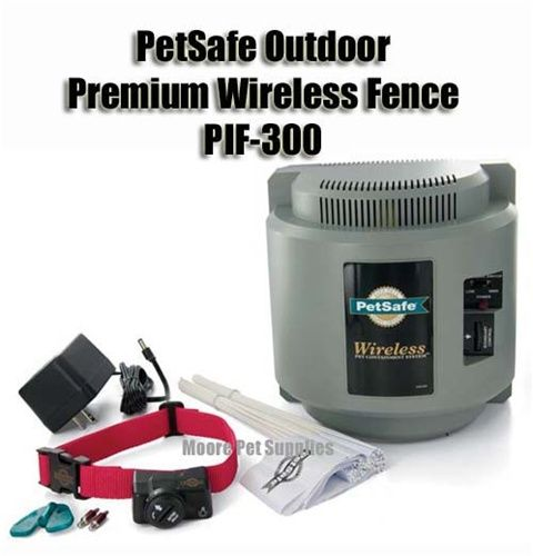 The Petsafe Pif 300 Premium Wireless Fence Covers An Adjustable Circular Area Of Up To 1 2 Acre 180 Feet Diameter The Unit Is Completely Teknologi Kesehatan