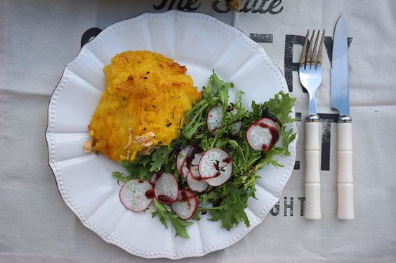 receita | torta de peixe com batata baroa