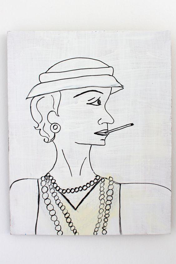 Chanel - Exposição Personnalités de France Aliança Francesa de Maceió/AL - maio/junho - 2013