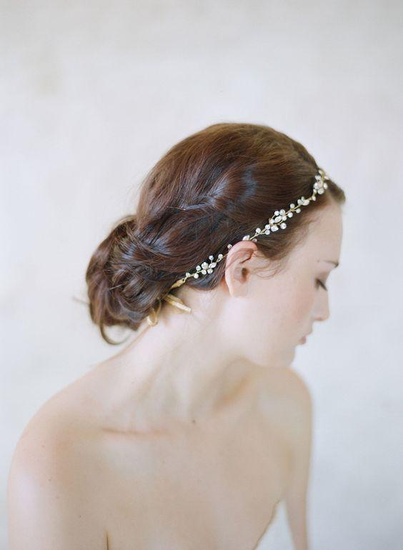 crystal hair vine - Style #545