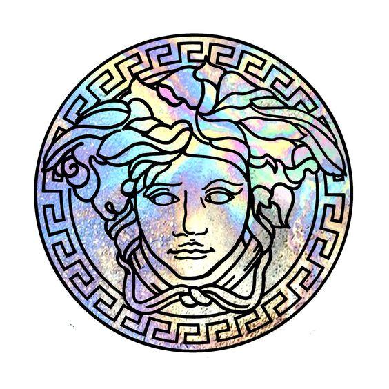 Custom Versace logo: