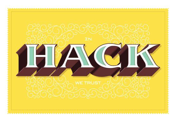 In Hack We Trust  by Ben Barry