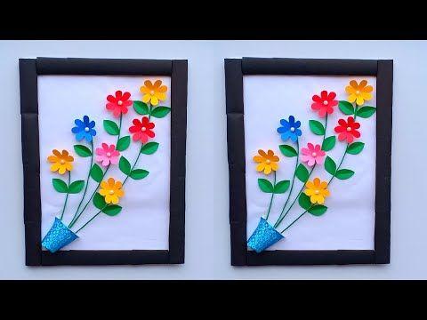 Diy Home Decor Craft Diy Easy Paper Flower Wall Hanging Decoration Diy Room Decor C Hanging Decorations Diy Paper Flower Wall Decor Diy Paper Flower Wall