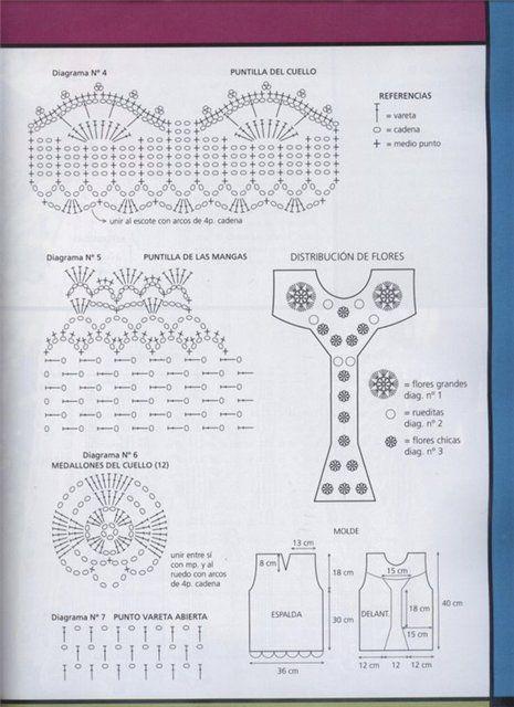 CARAMELO DE CROCHET: top en ganchillo
