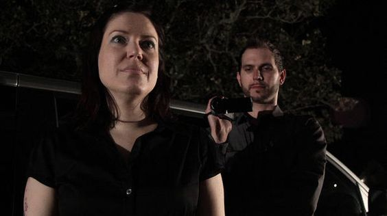 Amy Allan and cameraman Matt Anderson on The Dead Files