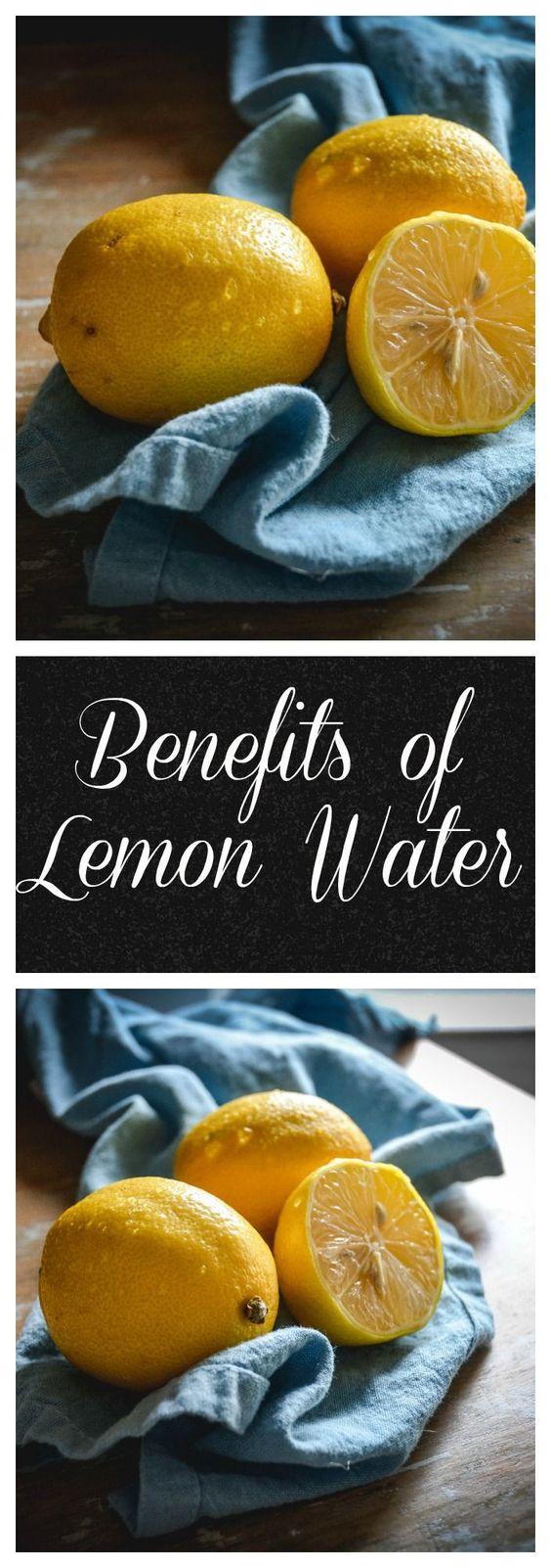 Lemon water benefits 11062