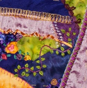 CRAZY QUILTING INTERNATIONAL: Seamwork Only DYB - Jeanne's Blocks