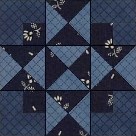 9-7 Four Corners comes from Grandma Dexter Applique and Patchwork Designs, Book…