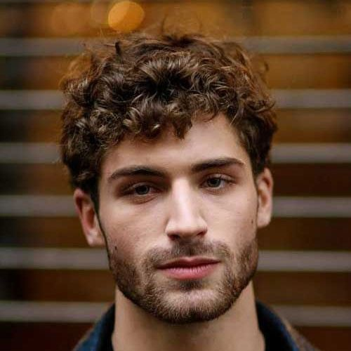 Pin On Lovely Medium Curly Haircuts For Men