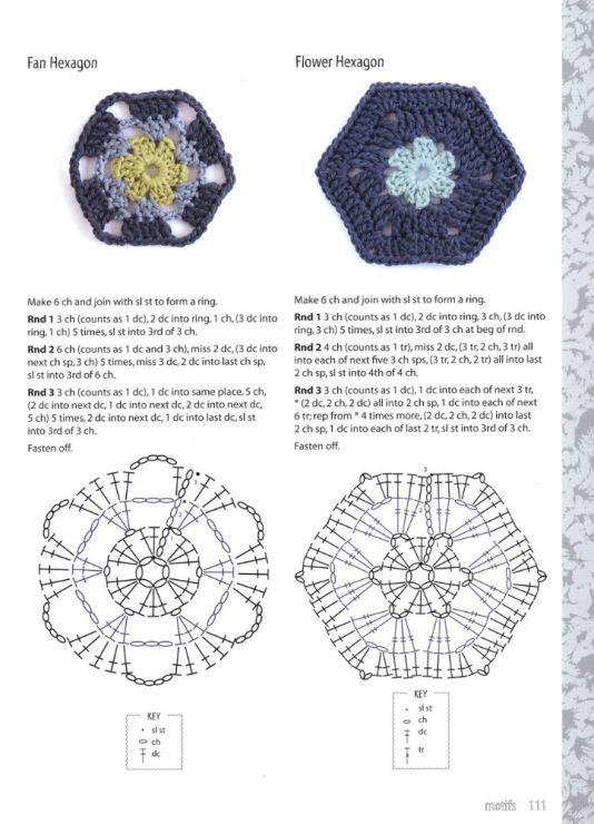 Gallery.ru / Фото #35 - 200 Crochet Flowers - nezabud-ka