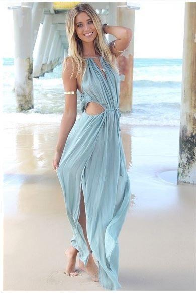 Irresistible Bohemian Beach Maxi Dress - Bohemian beach- Summer ...