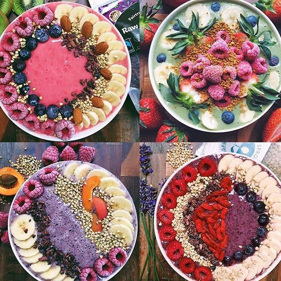 @natsfood has all the inspiration you may want for your #WILDRAWGUST needs. Just look at those gorgeous smoothie bowls