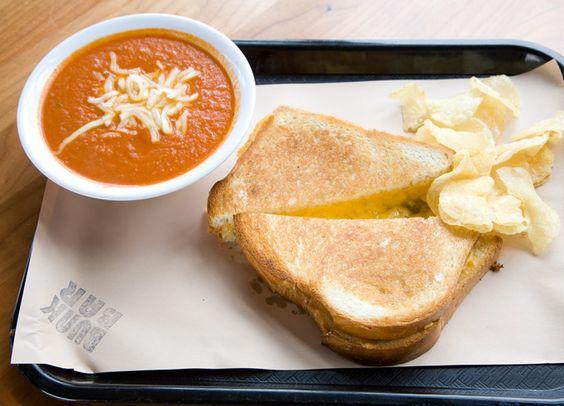 Classic Grilled Cheese + Cream Of Tomato Soup Recipe — Dishmaps