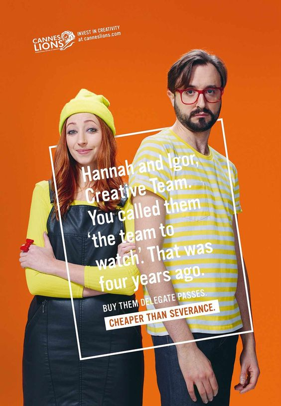 Cannes Lions: Hannah and Igor