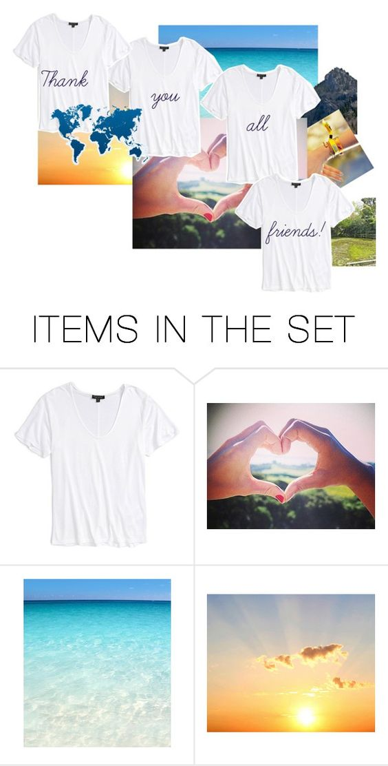 """Thank you!"" by thaliatria ❤ liked on Polyvore featuring art"