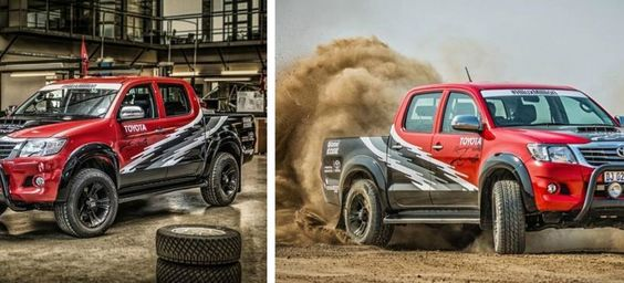Esto es lo que pasa cuando le colocas a una Toyota Hilux el V8 del Lexus IS-F #VIDEO