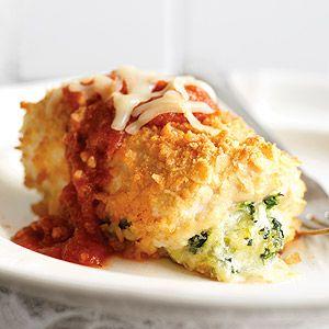 Chicken-Parmesan Bundles