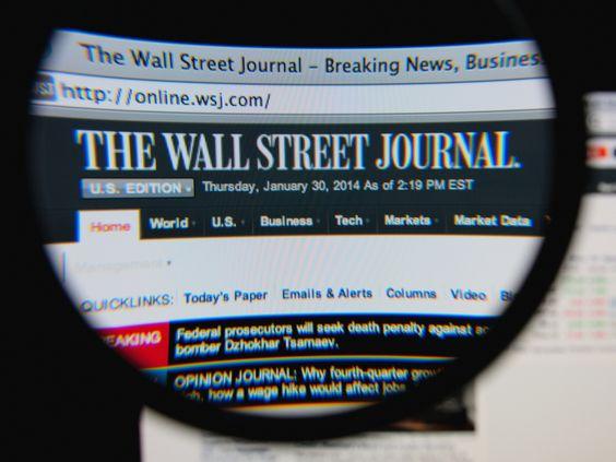 online dating Wall Street Journal