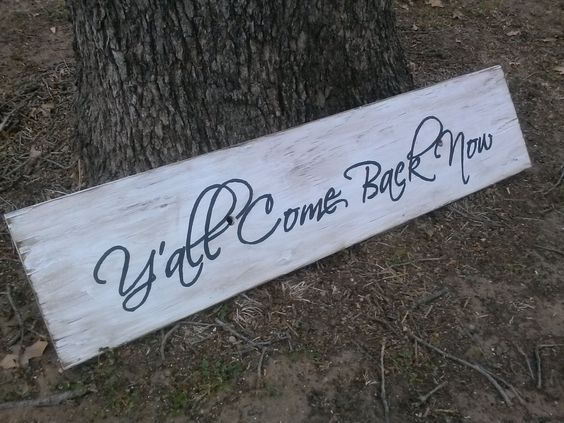 Rustic sign. Perfect for above the front door.