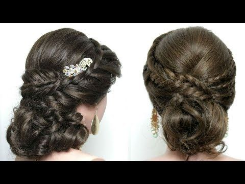 2 Party Hairstyles For Girls With Braids Cute Hair Updos Youtube Long Hair Updo Hair Styles Long Hair Styles