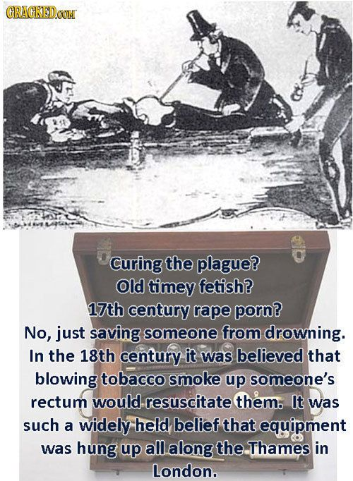 29 Insane Pastimes That Prove History Was Terrifying | Cracked.com Now for something to mull over. Seems Nurses and Drs. have always been weird.: