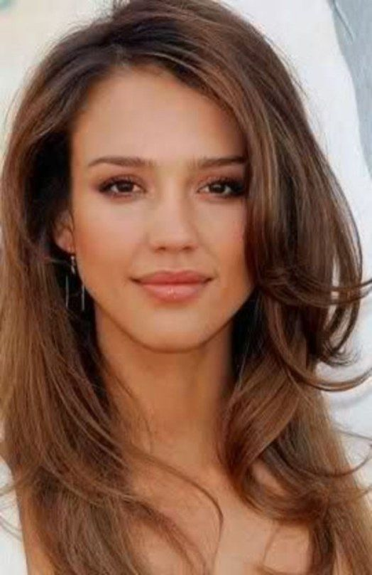 Hot Brown Hair Color 2019 For White Women 16 Jessica Alba Hair