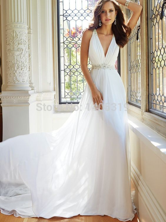 Find More Wedding Dresses Information about Free Shipping Custom Made A Line Wedding Dress 2014 See Through Beaded Back Sexy Wedding Dress julie vino Bridal Gown,High Quality Wedding Dresses from Suzhou Romantic Moments Wedding Dress CO.,LTD on Aliexpress.com