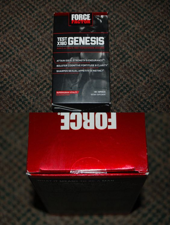 Other Sports Supplements: New Sealed Force Factor Test X180 Genesis 120 Capsules Exp 4/18 Free Shipping BUY IT NOW ONLY: $79.99