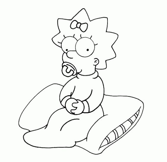 Die Simpsons 10 Ausmalbilder | Auto Hd Wallpapers | Pinterest