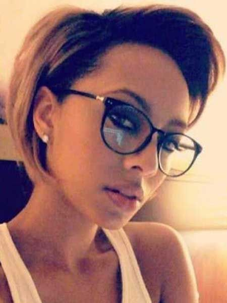 Amazing Bobs For Women And Glasses On Pinterest Hairstyles For Women Draintrainus