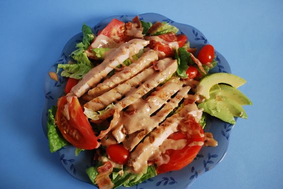 #BLT #Chicken #Salad. Want more #Pinspiration for your #DreamHome near #Charlotte #NC? Visit us at #WalnutCreekSC or www.walnutcreeksc.com in beautiful #Lancaster #SC! #recipe