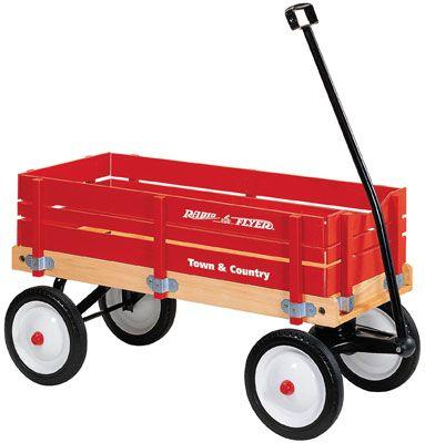 we had a wagon like this