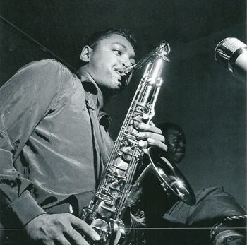Billy Mitchell 3/11/1926 – 18/04/2007  Tenor sax.  Photograph by Francis Wolff