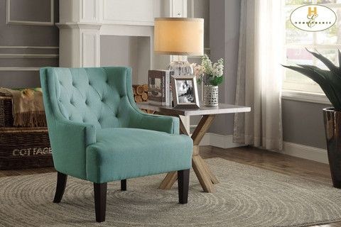 Dulce Collection - Accent Chair - Grey, Mustard, Teal, or Orange