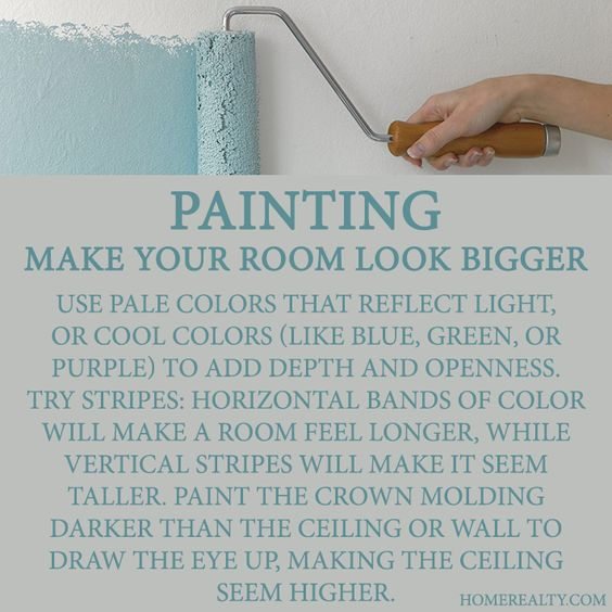 tricks for painting rooms future house yes please the definitive guide to making any small room look bigger